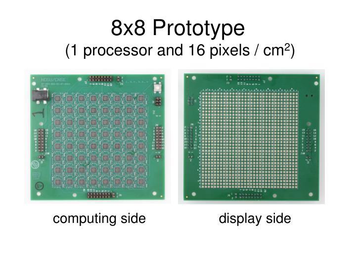 8x8 Prototype