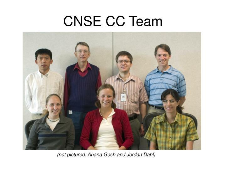 CNSE CC Team