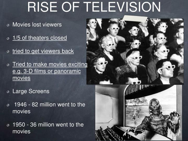RISE OF TELEVISION