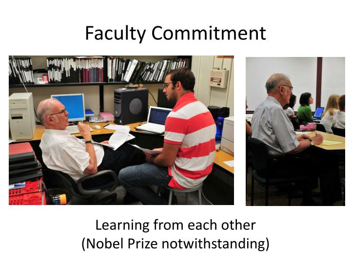 Faculty Commitment