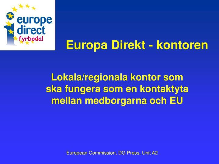 Europa Direkt - kontoren