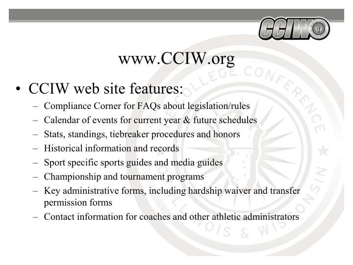 www.CCIW.org