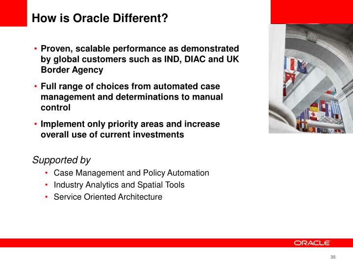 How is Oracle Different?