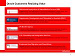 oracle customers realizing value