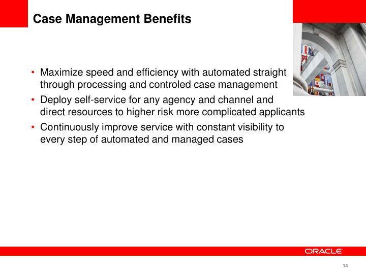 Case Management Benefits
