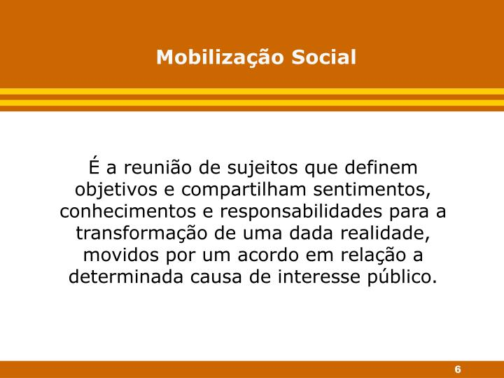 Mobilização Social