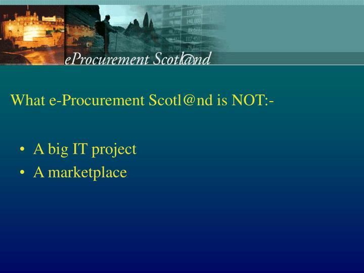 A big IT project