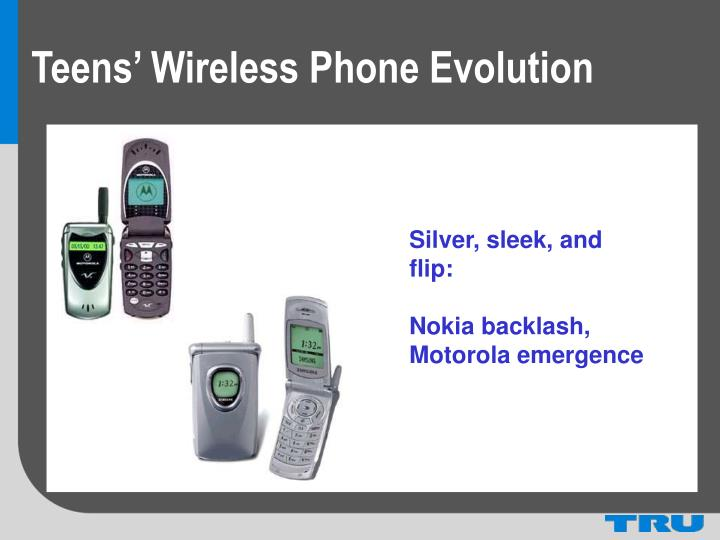 Teens' Wireless Phone Evolution