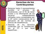derechos de los contribuyentes7
