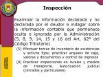 inspecci n