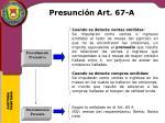 presunci n art 67 a1