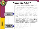 presunci n art 671