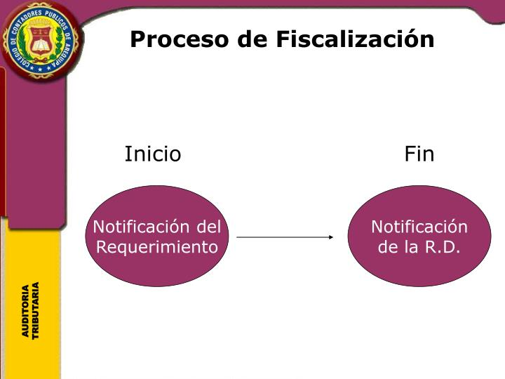 Proceso de Fiscalización