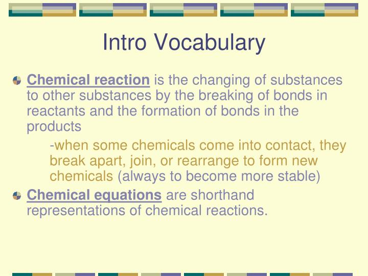 Intro Vocabulary