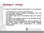 strategy 2 energy