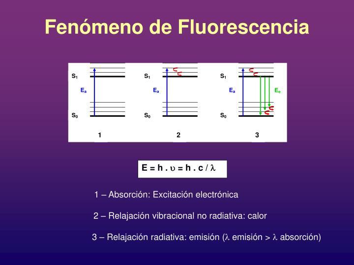 Fenómeno de Fluorescencia