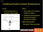 combined outlet coolant temperature