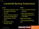 crankshaft bearing temperature1