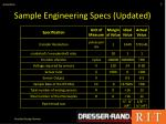 sample engineering specs updated