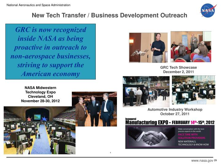 New Tech Transfer / Business