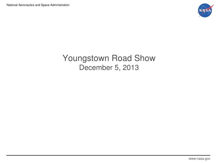 Youngstown Road Show