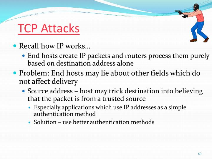 TCP Attacks