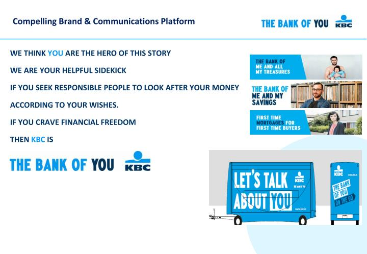 Compelling Brand & Communications Platform