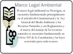 marco legal ambiental