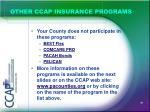 other ccap insurance programs