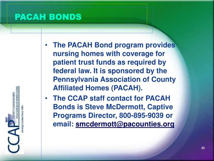 PACAH BONDS