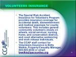 volunteers insurance