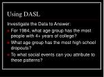 using dasl3