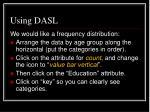 using dasl4
