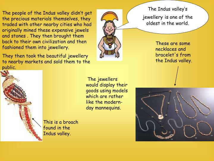 The Indus valley's jewellery
