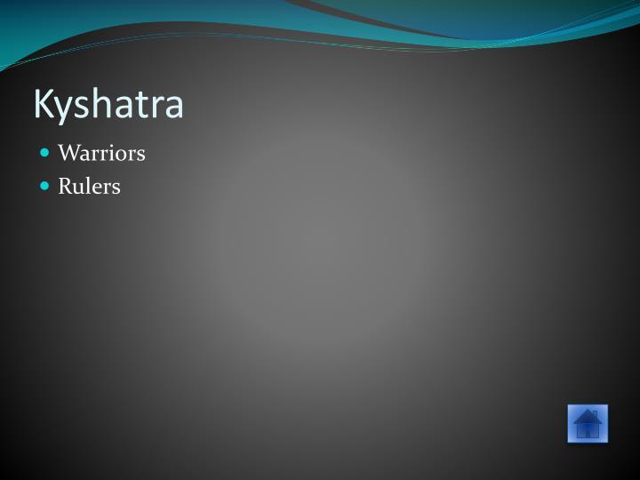 Kyshatra