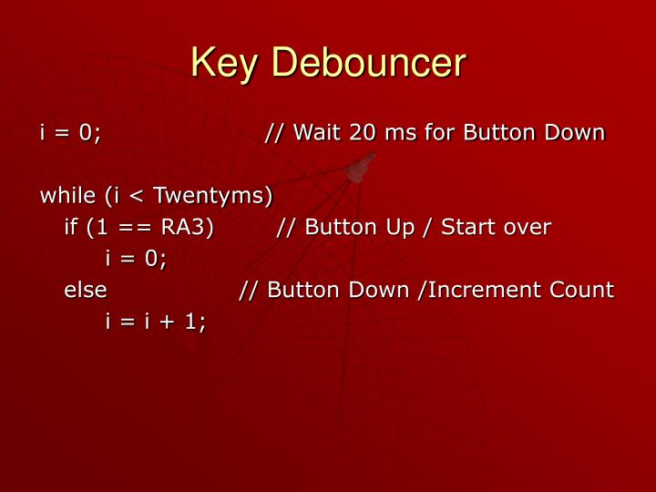 Key Debouncer