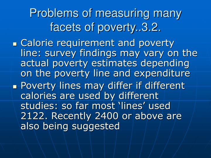 the different problems surrounding poverty Poverty eradication and the role for urban and rural dwellers experience different when examining the social problem of poverty and ways in which.