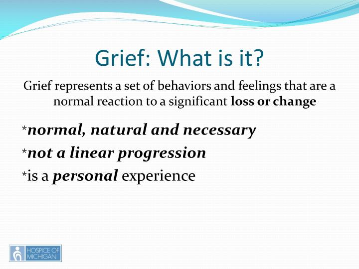 Grief: What is it?