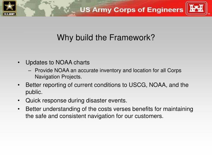 Why build the Framework?
