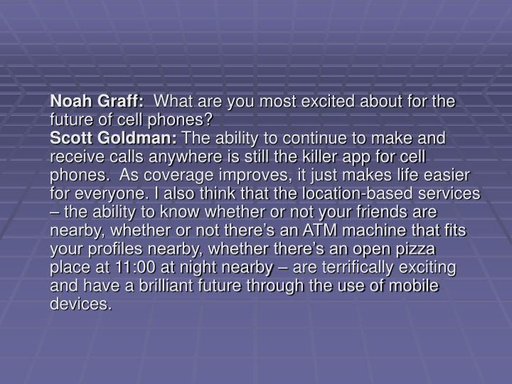 Noah Graff: