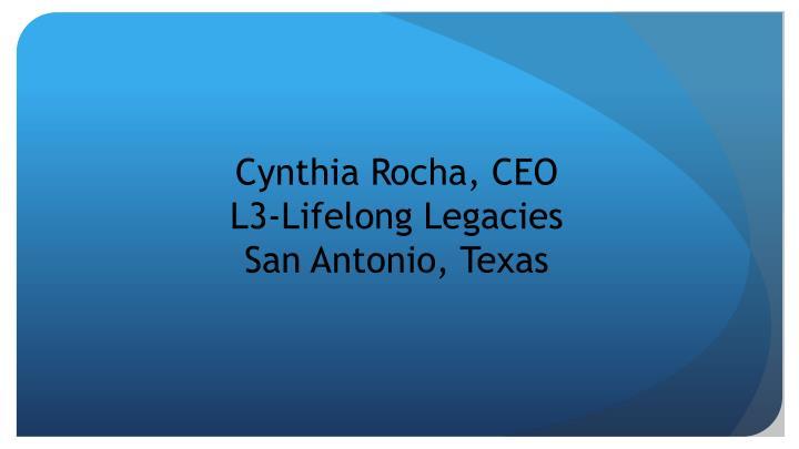Cynthia Rocha, CEO