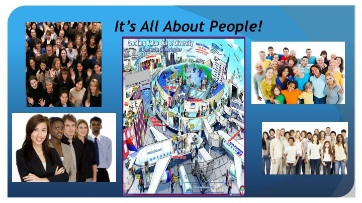 It's All About People!
