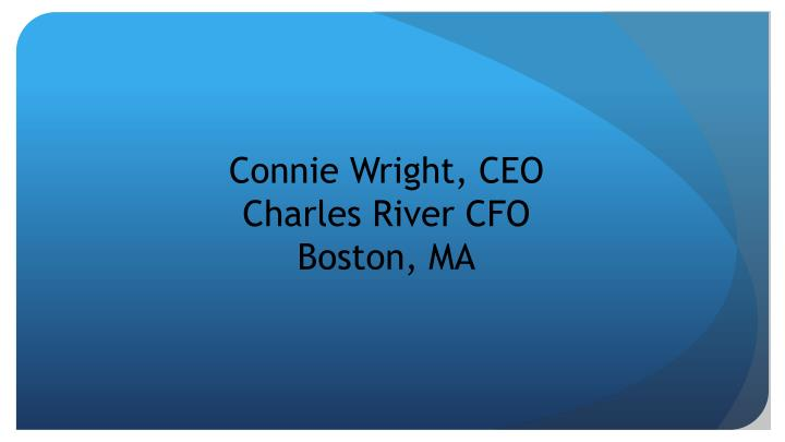 Connie Wright, CEO