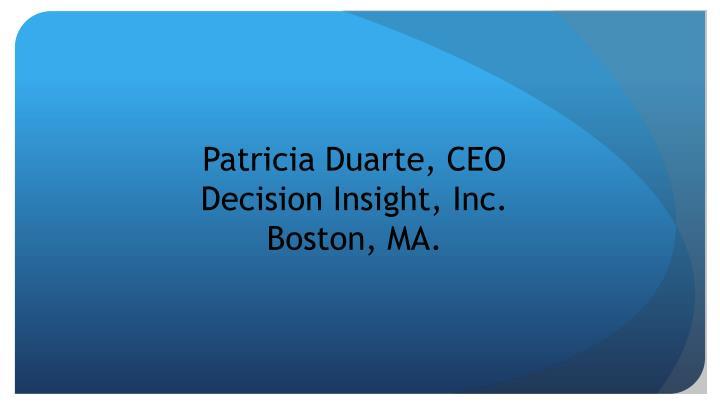 Patricia Duarte, CEO