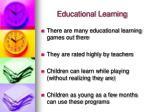 educational learning