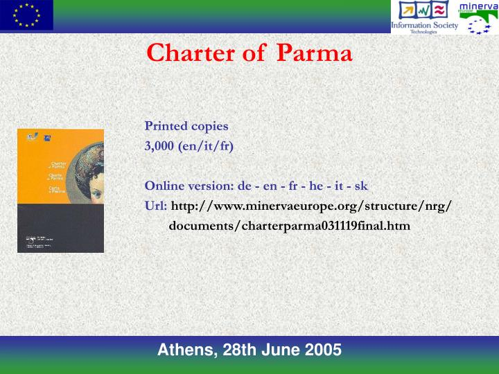 Charter of Parma
