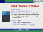 good practice handbook