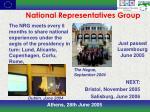 national representatives group
