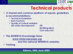 technical products