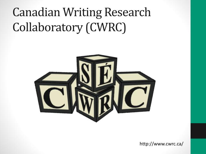 Canadian Writing Research